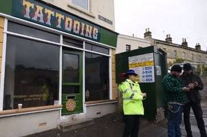 Bath man arrested after suspicious fires at Just Good Tattoos and Morris Barber Shop