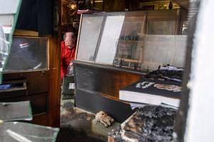 Police 'not linking' suspicious fires at Just Good Tattoos and Morris Barber Shop in Bath area