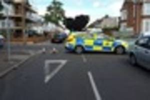 Pictures from overnight Southend incident that left man fighting...