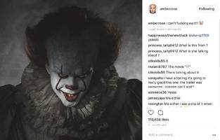 """Amber Rose's Ready To See The Scariest Movie Of The Year: """"I Can't F**king Wait!"""""""