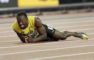 Usain Bolt collapses in final race, Great Britain seal 4x100m relay gold