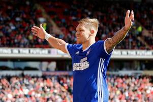 former rangers striker martyn wagorn delighted with dream ipswich debut