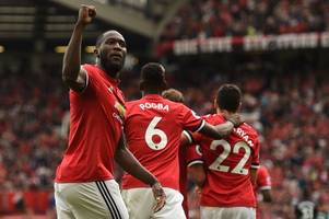 Manchester United 4 West Ham 0 as £75million Romelu Lukaku shows worth with double