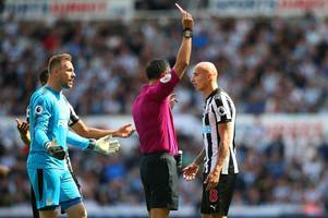Former Swansea City star Jonjo Shelvey sent off for Newcastle United against Spurs — but he may return for Liberty Stadium clash