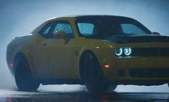 Dodge Demon Slides All Over Pittsburg Streets in Penzzoil Exorcism Ad