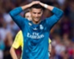 Ronaldo didn't dive and Real Madrid could appeal against red card, says Ramos