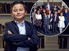Child Genius sees the return of Britain's cleverest kids