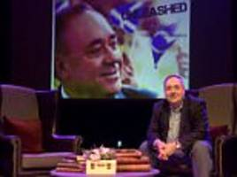 alex salmond in sexism storm over 'degrading' joke