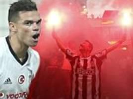 Besiktas new boy Pepe scores on debut but nobody is there