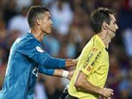 Cristiano Ronaldo could face ban of up to 12 games