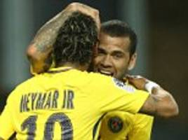 neymar showed why psg wanted to sign him, says dani alves