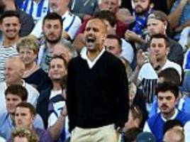 Pep Guardiola warns his team to expect a shake up