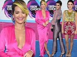 Teen Choice Awards 2017 red carpet