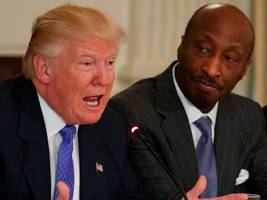 'i feel a responsibility to take a stand against intolerance and extremism': merck's ceo is resigning from trump's manufacturing council (mrk)