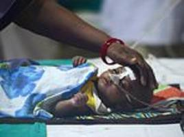 Weekend child deaths push India hospital toll to 85