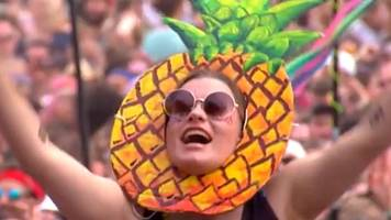 pineapples banned by reading and leeds festivals