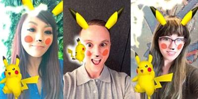 snapchat's new pikachu filter is actually kind of terrifying