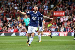 nottingham forest striker daryl murphy named in provisional republic of ireland squad