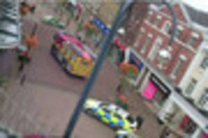 emergency services called to 'possible electrical fire' in town...