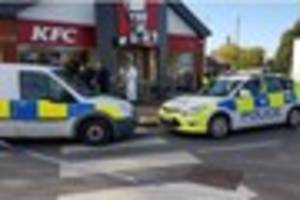 Man released under investigation following assault at KFC in...
