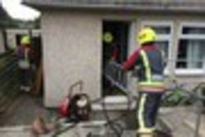 Truro family who had to move out of council house after blaze say...