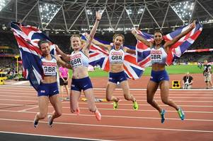 university of bath-based eilidh doyle and emily diamond reflect on their world athletics championship silver medals