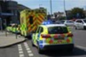 Two men have been arrested after a police incident at Margate...