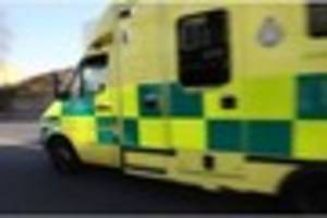 Driver rushed to hospital with 'serious injuries' following crash...