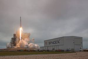 SpaceX returns for first Florida launch since early July