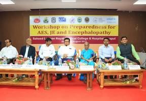 two day state-led multi-sectoral partnership workshop on preparedness and response for acute encephalitis syndrome (aes), japanese encephalitis (je) and acute encephalopathy held in koraput, odisha