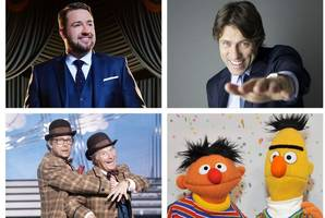 'less eric and ernie, more bert and ernie from the muppets' jason manford opens up on fringe flatsharing with pal john bishop