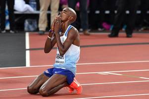 mo farah will change his name after bowing out with silver at world championships