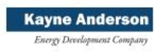Kayne Anderson Energy Development Company Enters Into $60 Million Term Loan and $70 Million Revolving Credit Facility