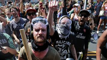 antifa: left-wing militants on the rise