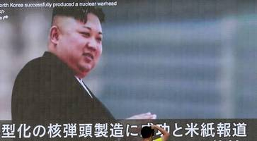 Kim Jong Un briefed on plans for missile tests near Guam