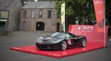 LaFerrari Aperta: Hundreds gather to see hybrid supercar in Northern Ireland