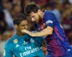 Real Madrid & Barcelona team news: Injuries, suspensions and line-up for the Clasico