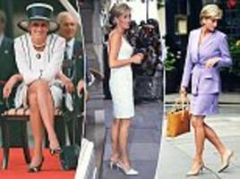 the highs and lows of diana's marriage - in heels!