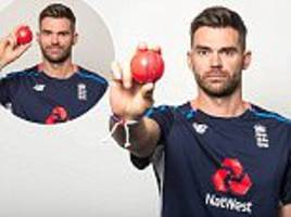England star Jimmy Anderson on joining an elite club
