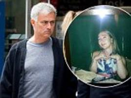 Man United boss Jose Mourinho pays tribute to his wife