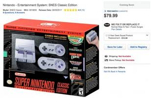 Here's where you can pre-order Nintendo's new $80 mini Super Nintendo