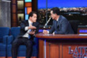 watch scaramucci tell colbert that nazis are 'super bad'