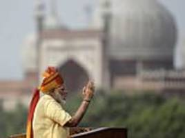 indian prime minister pledges to wipe out corruption