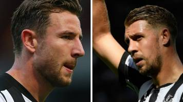 Newcastle's Lejeune & Dummett out 'for weeks'