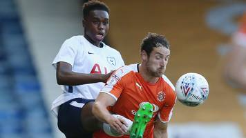 EFL Trophy: Manchester City & Tottenham go to penalties in first game
