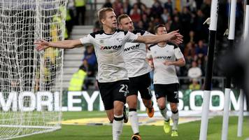 vydra earns derby first victory of season