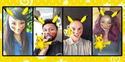 Take a Selfie With Pikachu in Snapchat Before It's Gone