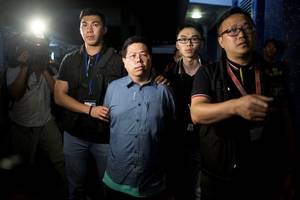 Hong Kong Democrat Arrested for 'Misleading' Police After Abduction Claims