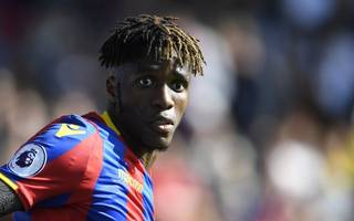 major blow for palace after zaha sidelined for four weeks