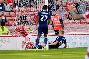 jordan smith 'let down' by defence as nottingham forest suffer first defeat of season at barnsley